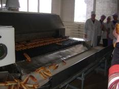 Экскурсия на хлебзавод №2 г.Донецка