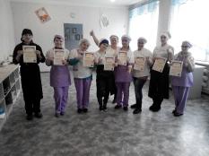 Вручение дипломов студентам группы № 3