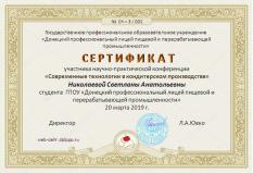 Сертификат (Николаева С.А.)